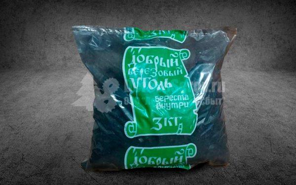 Древесный уголь березовый 3 кг. купить