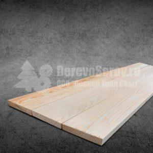 Купить доску строганную сухую 40х100х6000 из осины