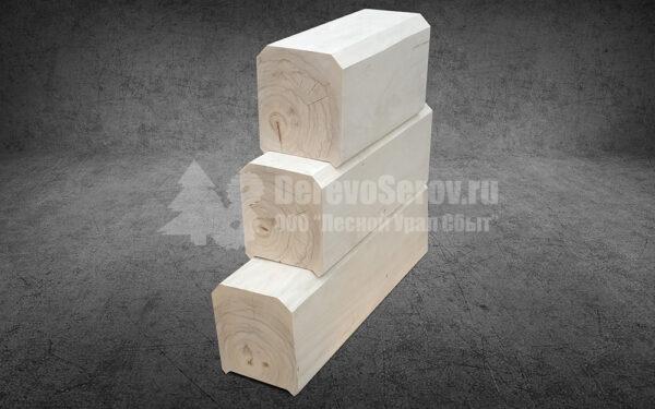 Профилированный брус 100х150х6000 из осины (1)