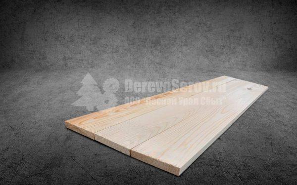 Купить доску строганную сухую 25х200х6000 из осины
