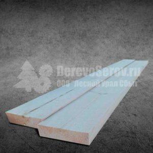 Купить доску сухую обрезную 40х100х6000 из осины