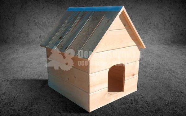 деревянный домик для кошки собаки